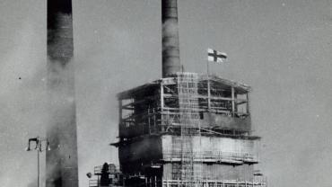 The Tomlinson recovery boiler plant