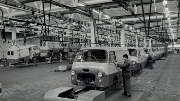 Automobile manufacturing plant