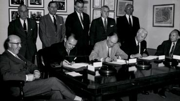 Signing of the Industry Project